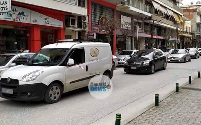 Διαμαρτυρία με αυτοκινητοπομπή των εμπόρων και επαγγελματιών της Καρδίτσας