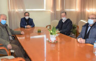 Συνάντηση του υποδιοικητή της 5ης ΥΠΕ Σ. Παπαγεωργίου με το Δήμαρχο Καρδίτσας κ. Β. Τσιάκο