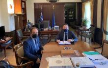 Στην Αθήνα ο Δήμαρχος Καρδίτσας Β. Τσιάκος για θέματα του Δήμου