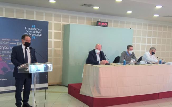Τοποθέτηση δημάρχου Καρδίτσας κ. Β. Τσιάκου στην σύσκεψη υπό τον πρωθυπουργό