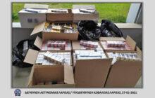 Συνελήφθη με 4840 πακέτα αφορολόγητων τσιγάρων και 411 συσκευασίες αφορολόγητου καπνού