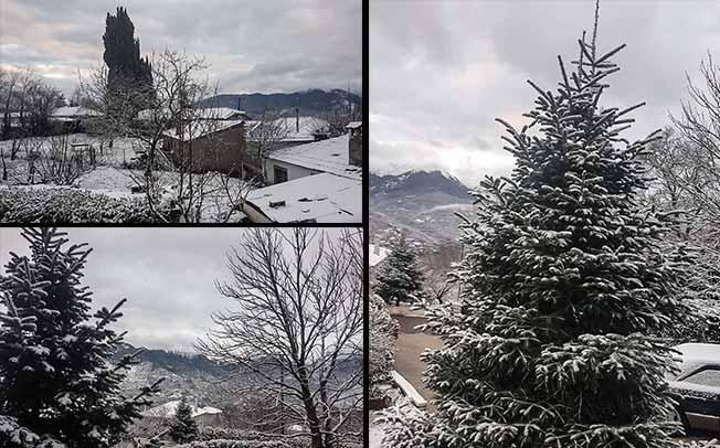 Έρχεται η κακοκαιρία «Λέανδρος», με ψύχος και χιονοπτώσεις.