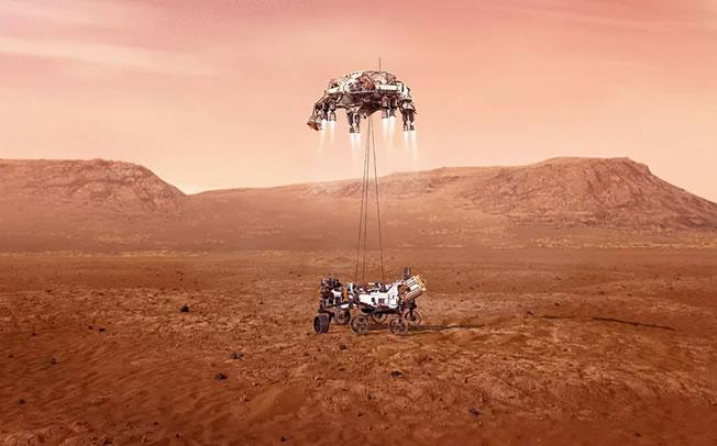 NASA: Προσεδαφίστηκε στον Άρη το Perseverance