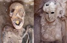 Σπάνιο εύρημα στην Αίγυπτο. Βρέθηκε μούμια 2.000 ετών με χρυσή γλώσσα