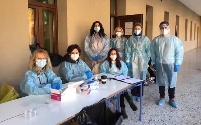 Δήμος Μουζακίου: Αρνητικά όλα τα rapid tests σε Μαγούλα και ΕΠΑΛ Μουζακίου