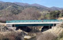 Ολοκληρώνονται οι εργασίες κατασκευής της νέας γέφυρας στο Διάσελο Τρικάλων