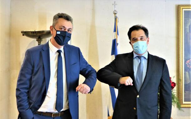 Συνάντηση Γ. Κωτσού με Α. Γεωργιάδη: Άμεση ανάγκη εφαρμογής σχεδίου αρωγής και τοπικής ανάπτυξης για το Ν. Καρδίτσας