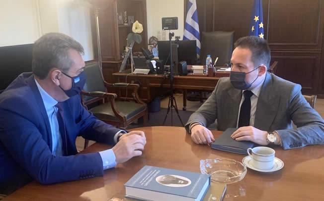 Συναντήσεις Γ. Κωτσού με Μ. Βορίδη και Στ. Πέτσα - Εκλογικός νόμος και χρηματοδότηση στην ατζέντα