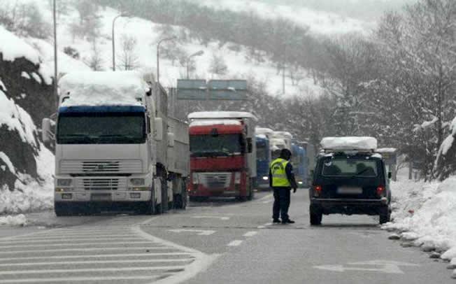 Άρση απαγόρευσης κυκλοφορίας των φορτηγών οχημάτων στον Ε65