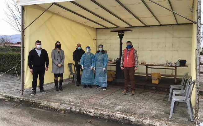 Δήμος Μουζακίου: Αρνητικά όλα τα rapid tests που διενεργήθηκαν στην Μαγουλίτσα
