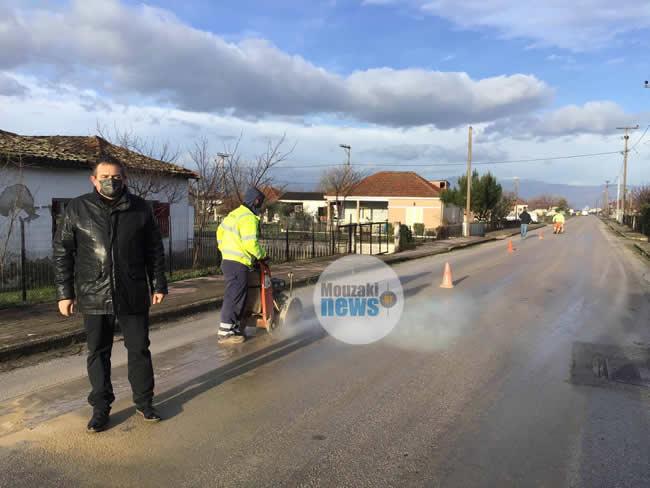 Αποκλειστικό: Ξεκίνησαν οι εργασίες για την αντικατάσταση του δικτύου ύδρευσης σε κοινότητες της Δ.Ε. Παμίσου