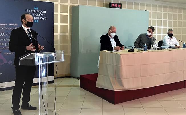 Δήμαρχος Μουζακίου σε Πρωθυπουργό: «Έχουμε πολλή δουλειά μπροστά μας - Απαραίτητο και εμβληματικό έργο το Φράγμα Μουζακίου»