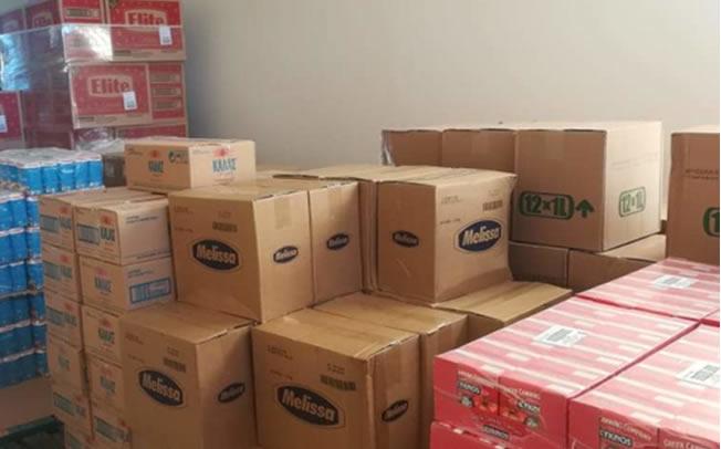 Σε εξέλιξη βρίσκεται η διαδικασία διανομής τροφίμων από το Δήμο Παλαμά σε ευπαθείς κοινωνικές ομάδες