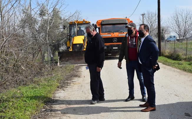 Επισκέψεις του Δημάρχου Καρδίτσας Β. Τσιάκου σε Μητρόπολη και Πορτίτσα