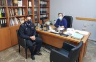 Επίσκεψη του νέου Διοικητή της Π.Υ. Καρδίτσας στη Διεύθυνση Πρωτοβάθμιας Εκπαίδευσης Καρδίτσας