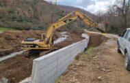 Αποκατάσταση ζημιών από την Π.Ε Καρδίτσας στον οικισμό Κούτσουρο