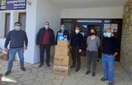 Προσφορά υγειονομικού υλικού στο Δήμο Λίμνης Πλαστήρα