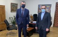 Στον Αναπληρωτή Υπουργό Υγείας Βασίλη Κοντοζαμάνη ο Βουλευτής Γιώργος Κωτσός