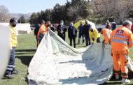 50 σκηνές για τους σεισμόπληκτους της Θεσσαλίας από την Περιφέρεια Κεντρικής Μακεδονίας